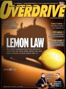 Lemon Laws for Commercial Trucks
